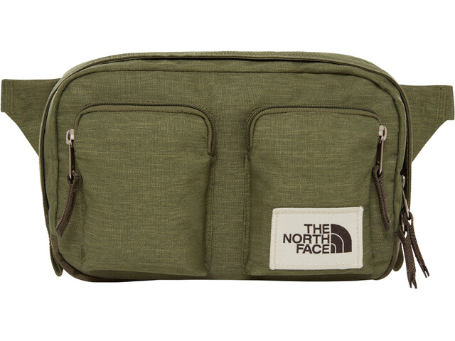 The North Face Kanga Fanny Pack four leaf clover dark heather/new taupe green dark heather